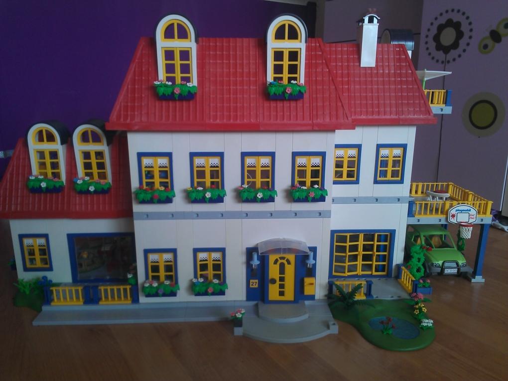 Playmobil foto 39 s van huizen van klanten foto 39 s van particulieren bedrijven en instanties - Idee huis uitbreiding ...