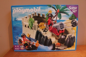 Playmobil piraten super set 4007 nieuw