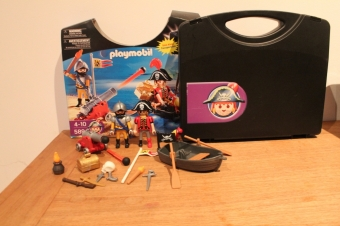 Playmobil piraten koffer 5894.
