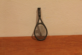 Playmobil tennis racket.