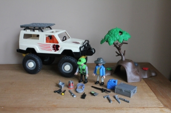 Playmobil grote safari jeep 3219