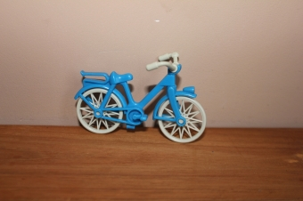 Playmobil oude fiets.