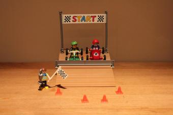 Playmobil go kart race 4141