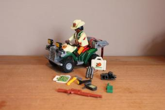 Playmobil dino quad 4176