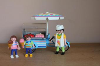 Playmobil ijsco kar 3244