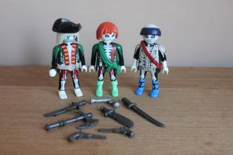 Playmobil 3 spookpiraten 4800