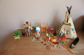 Playmobil indianenset 3733