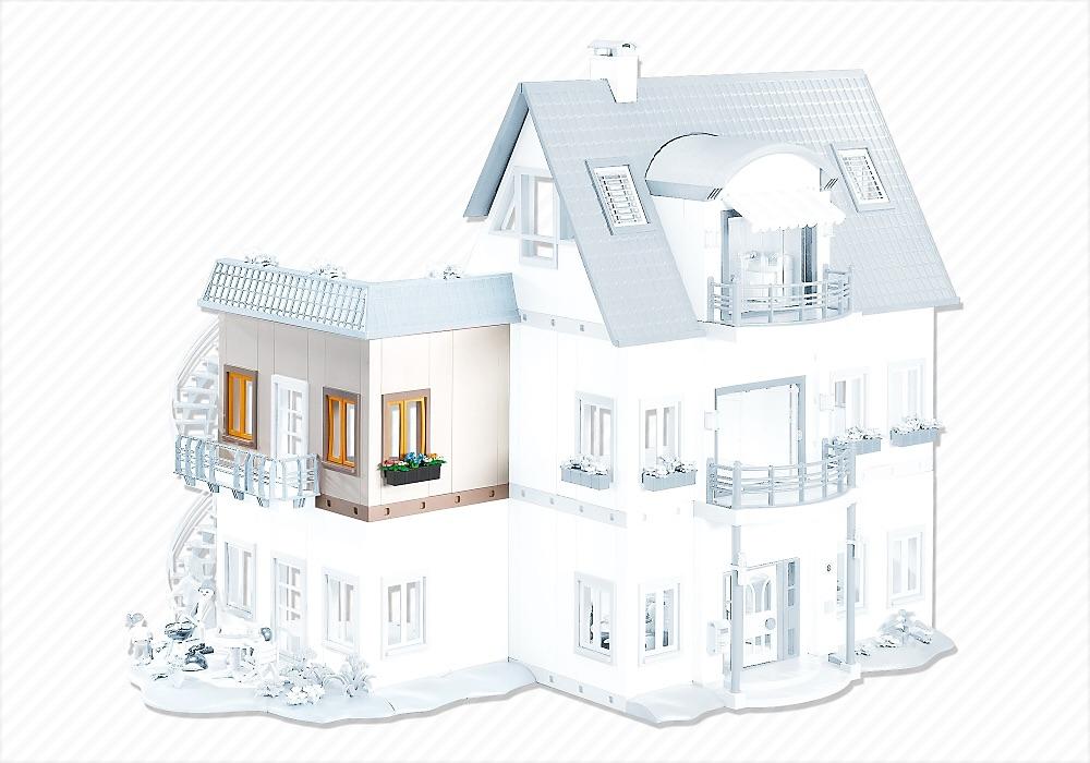 Playmobil uitbreiding huis 4279 7389 playmobil for Casa moderna de playmobil 123