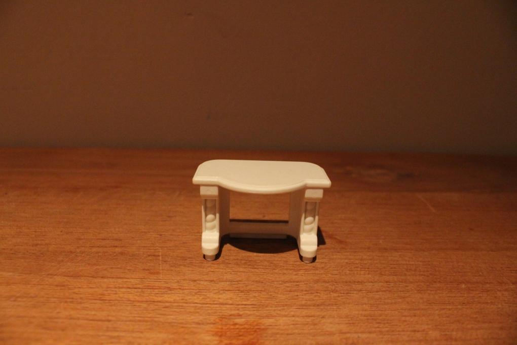 Playmobil wit schouw tafeltje van set 4145 meubels for 2e hands meubels