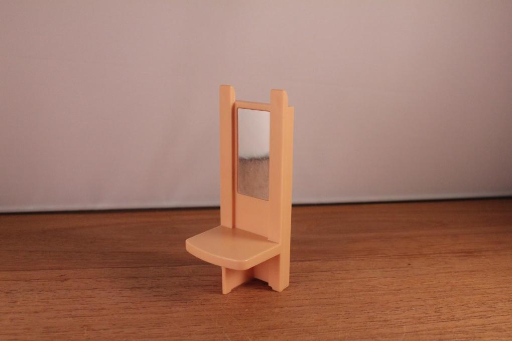 Playmobil kaptafel met spiegel meubels inrichting 2e for 2e hands meubels