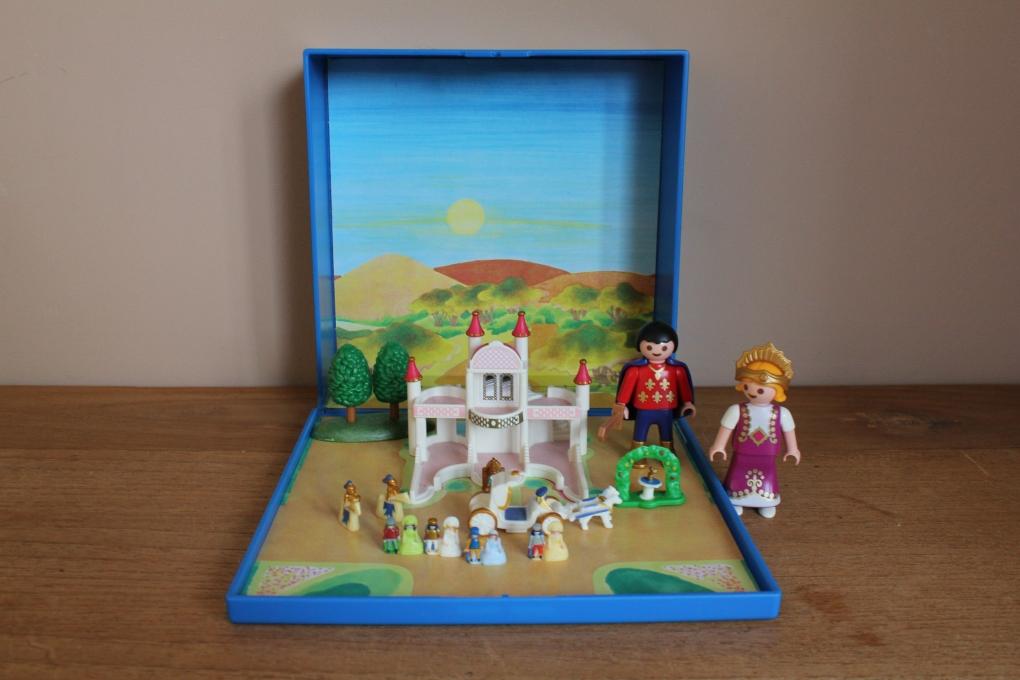 Playmobil micro prinsessen kasteel 4330 playmobil micro for Micro playmobil
