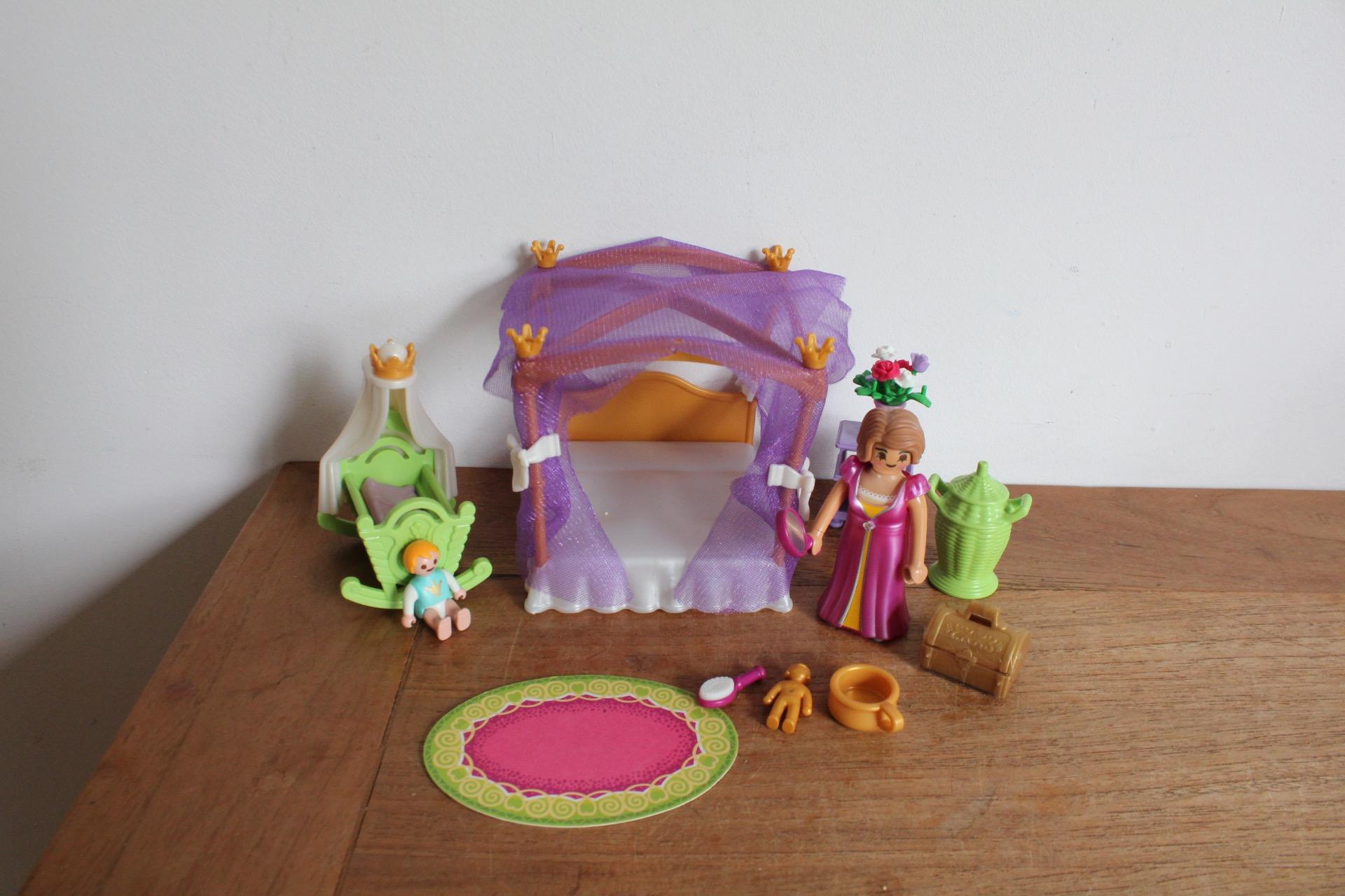 Playmobil Koninklijke slaapkamer met hemelbed 6851. - playmobil ...