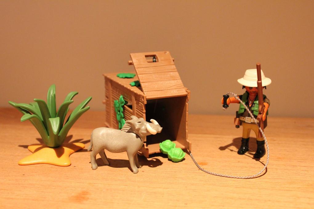 Playmobil stroper met val 4833 playmobil safari 2e hands