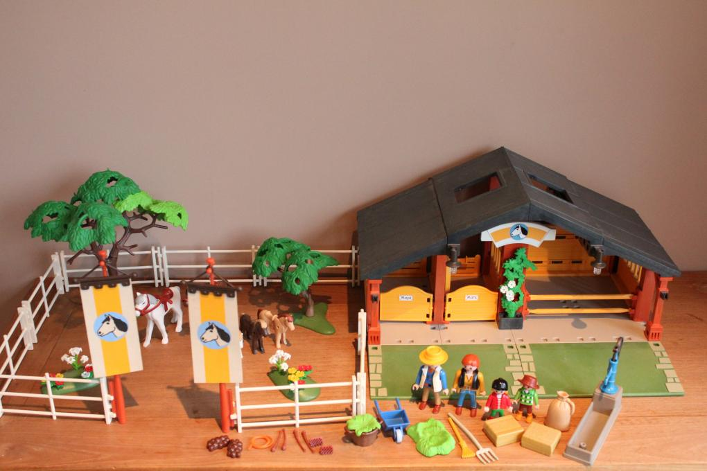 Playmobil Manege 3120 Playmobil Manege Paarden 2e