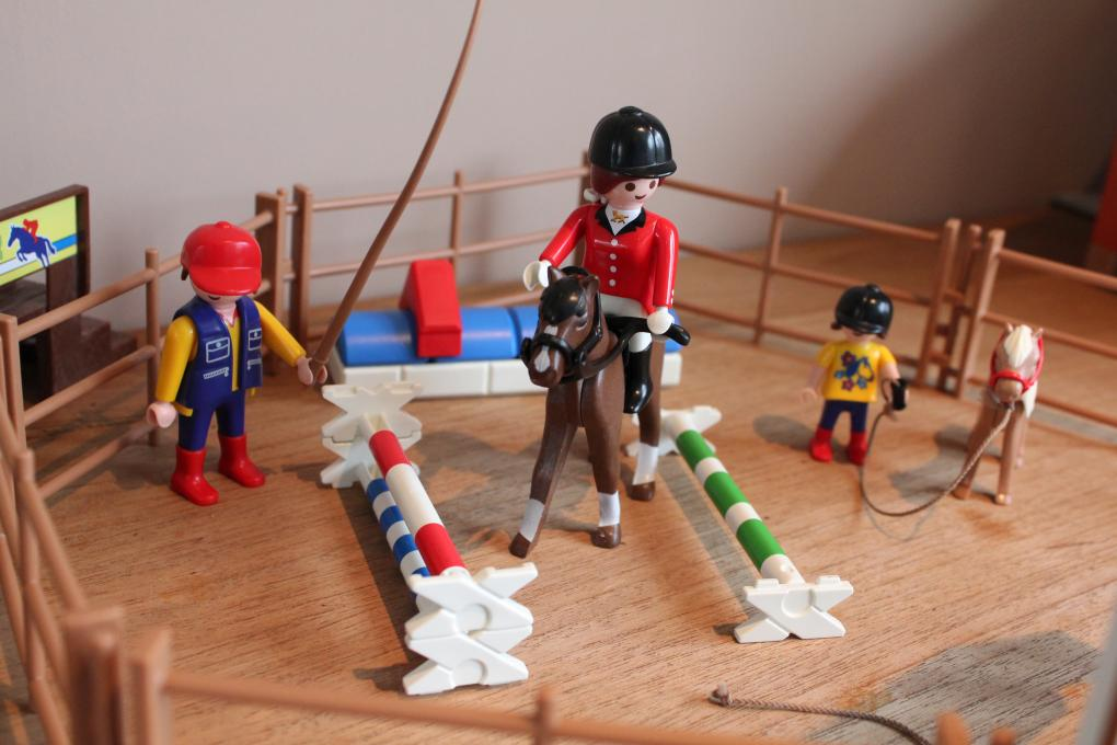 Playmobil Paarden Dressuur 4185 Playmobil Manege