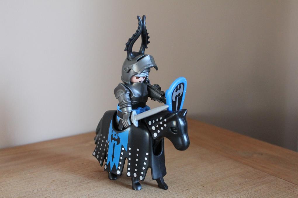 Playmobil ridder op paard 3315 - playmobil ridders/ drakenkasteel - 2e
