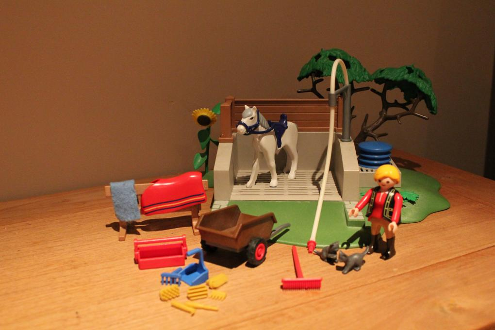 Playmobil Paarden Wasplaats 4193 Playmobil Manege