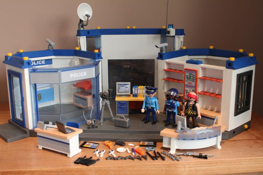 politiebureau playmobil handleiding