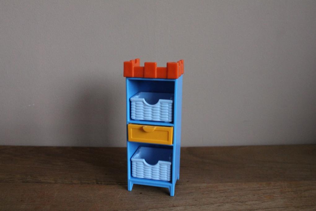 Playmobil Kast Met Gekleurde Manden Kasten En Bureaus