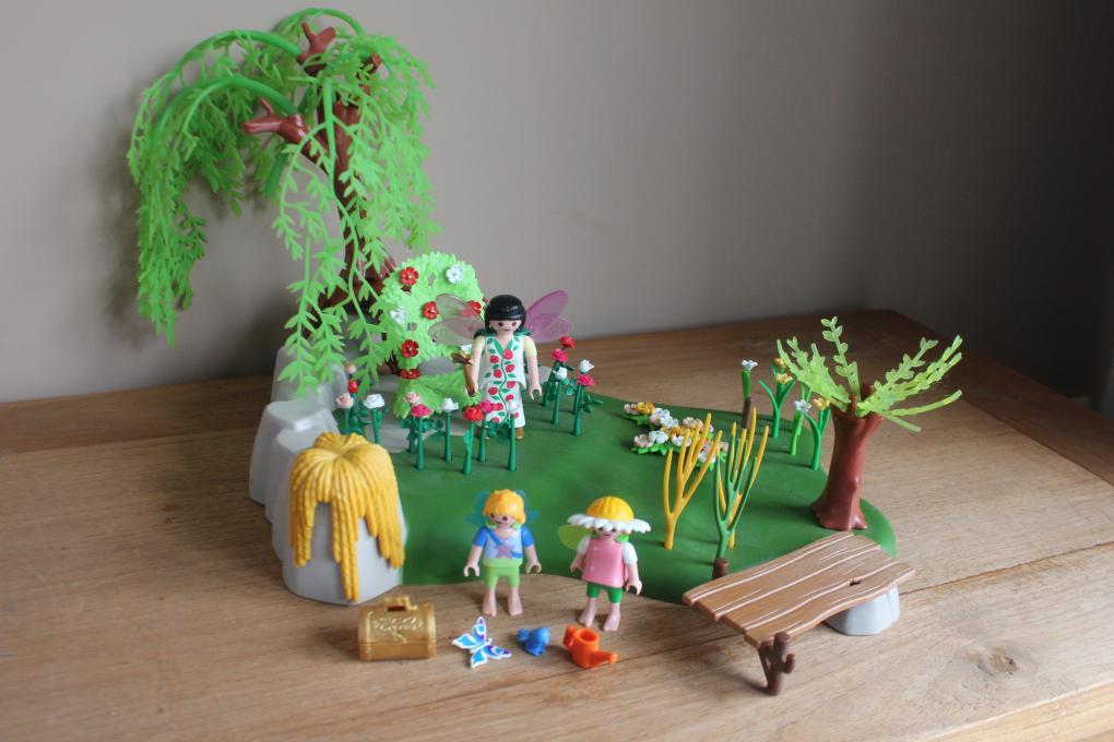 Playmobil elfen tuin playmobil prinses sprookjes e