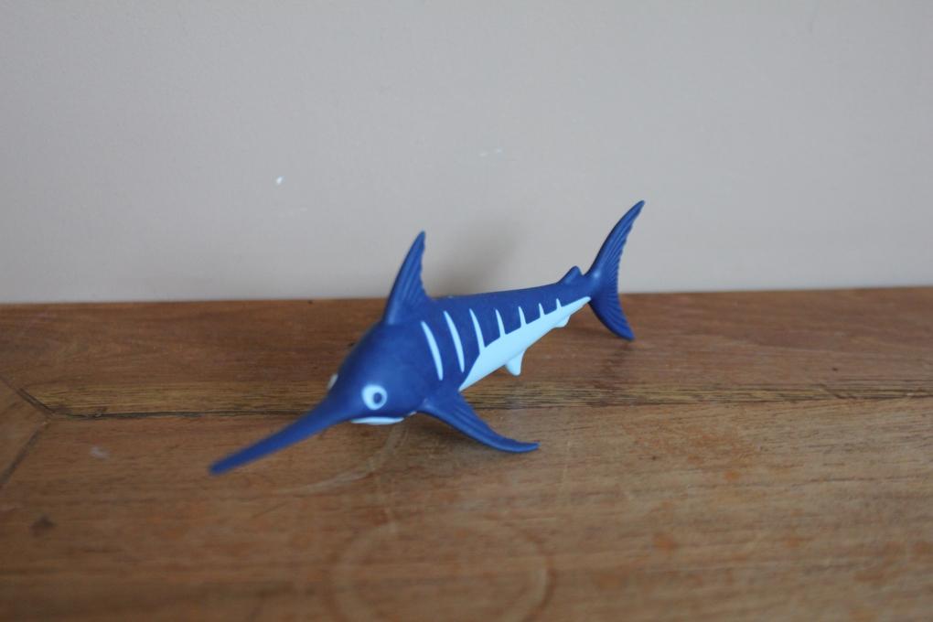 Playmobil zwaardvis zee en water dieren 2e hands playmo for Bureau zwaardvis