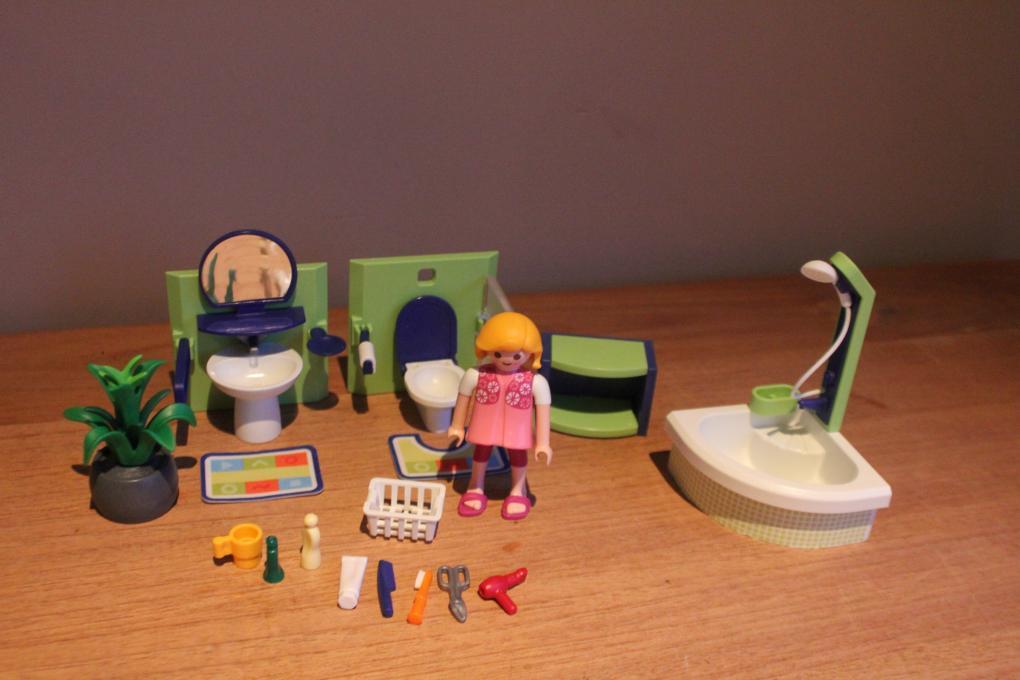 Playmobil badkamer 4285 - playmobil poppenhuis / inrichting - 2e ...