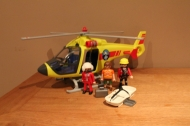 Playmobil rescue helicopter 5428.