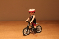 Playmobil special vrouw op mountainbike 4743