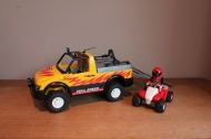 Playmobil jeep met quad 4228